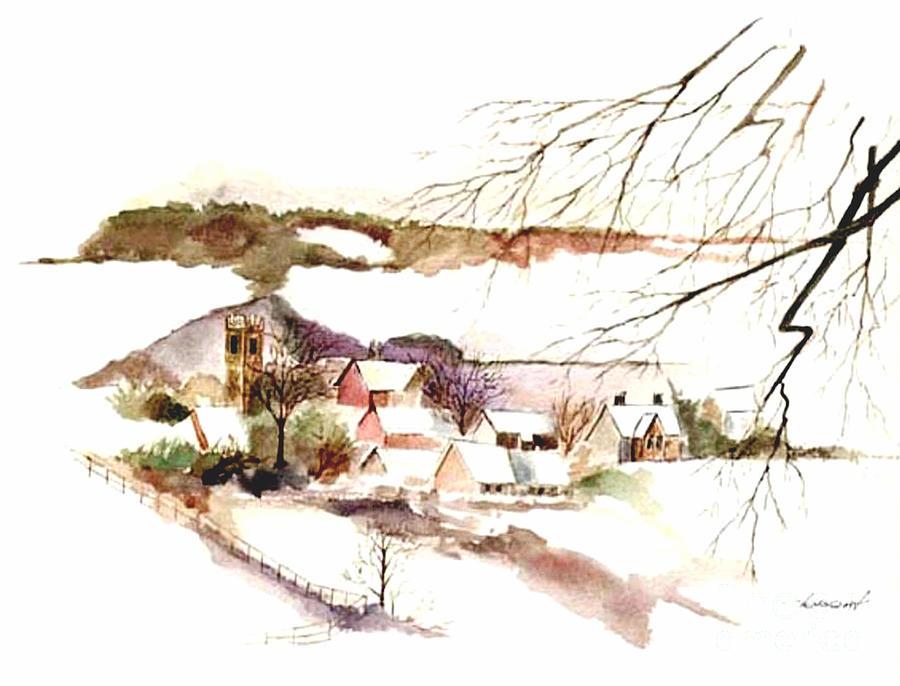 Farm House Painting