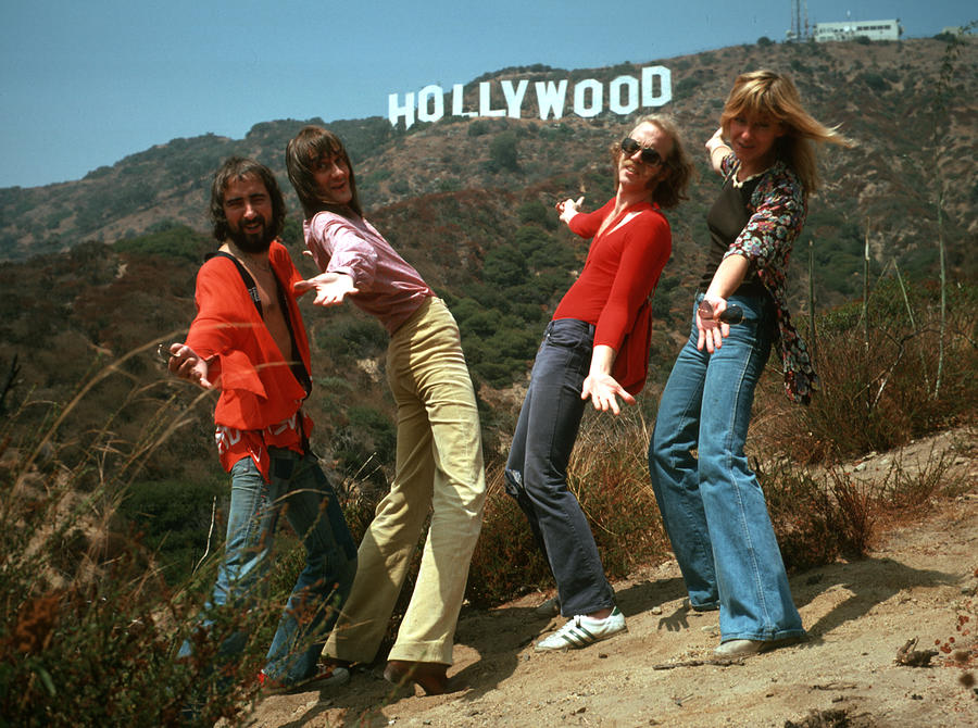 Fleetwood Mac In Hollywood Photograph by Michael Ochs Archives