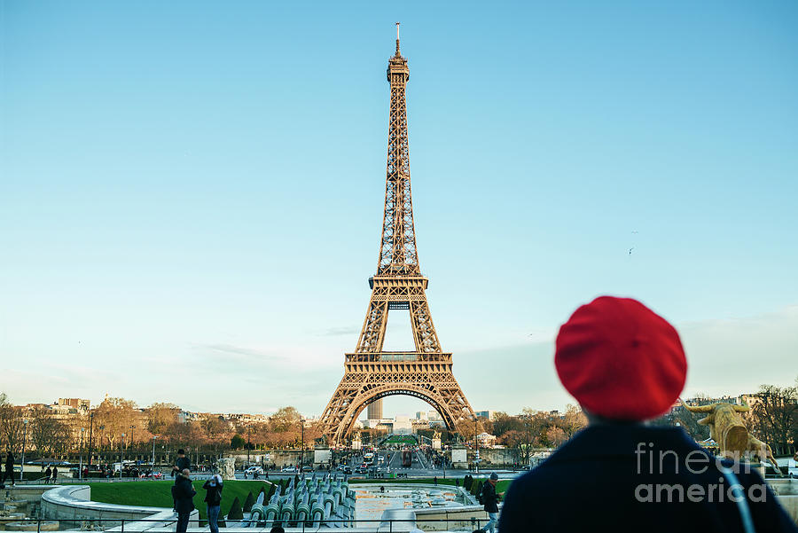 France, Paris, View To Eiffel Tower Photograph by Westend61
