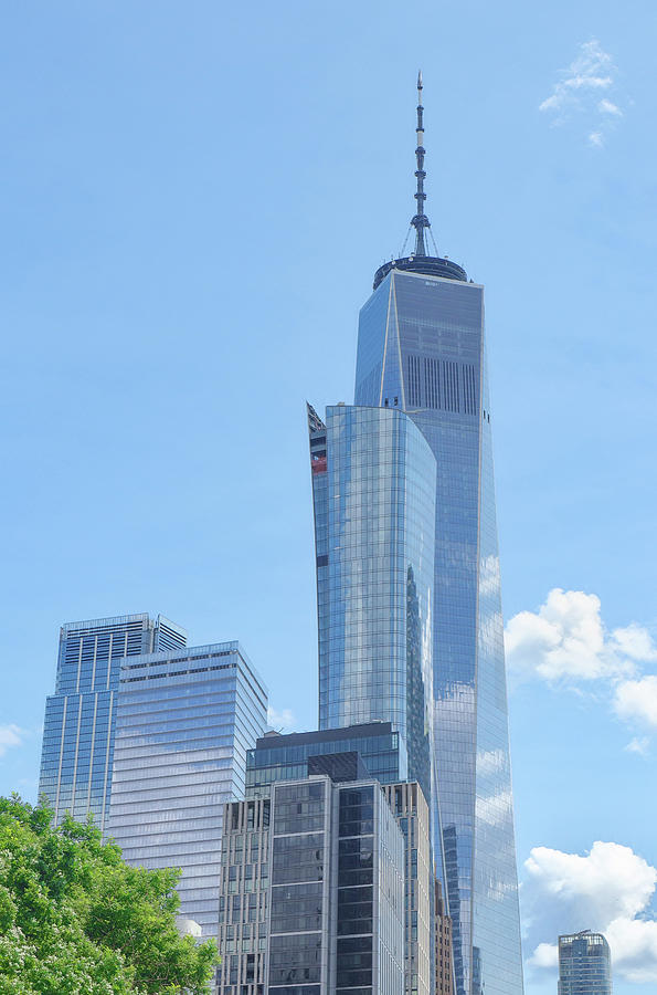 Freedom Tower by Cate Franklyn