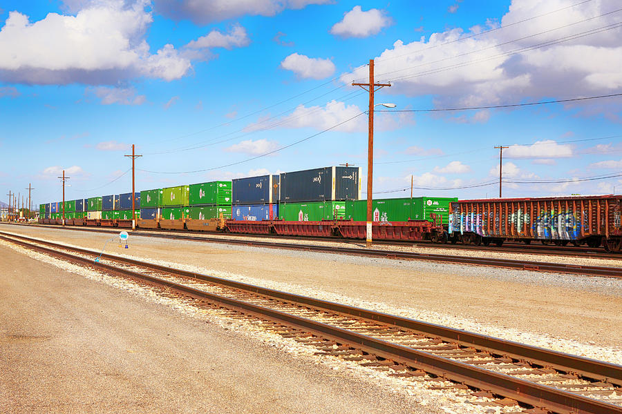Freight Train by Chris Smith