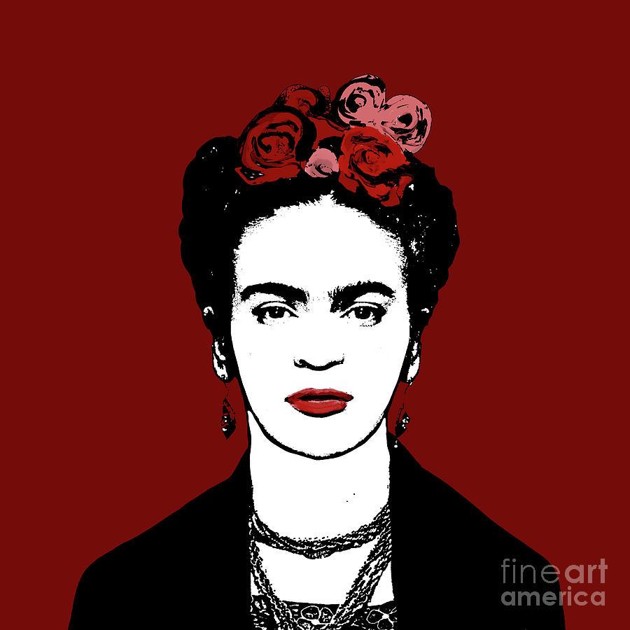 Frida Kahlo Digital Art