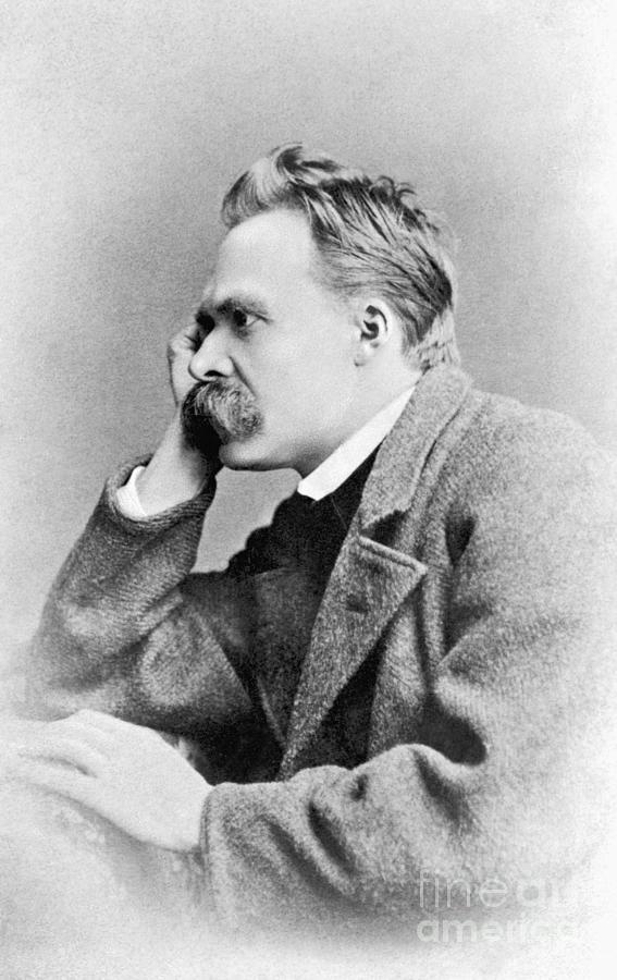 Friedrich Nietzsche Photograph by Bettmann