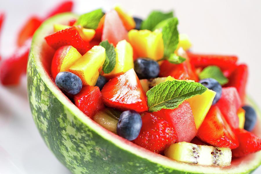 Fruit Salad Photograph by Svariophoto