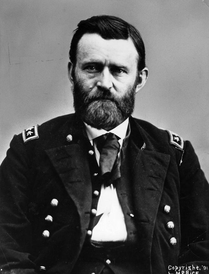 General Grant Photograph by Hulton Archive