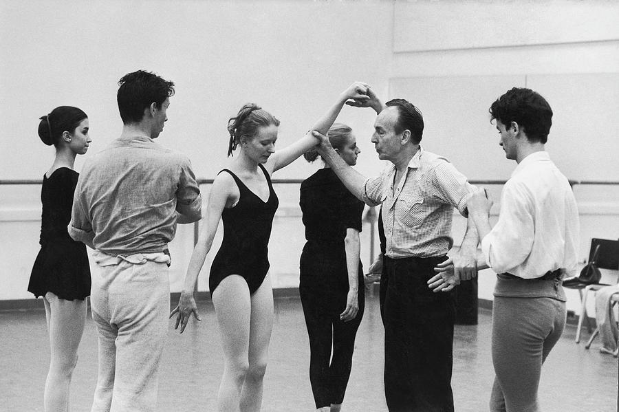 George Balanchine Photograph by Gjon Mili