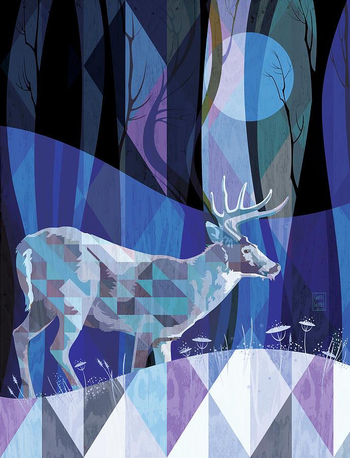 Ghosts Digital Art - Ghost Walker by Garth Glazier