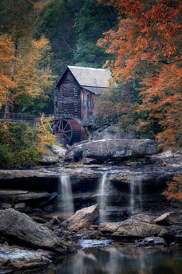 Glade Creek Grist Mill by Ryan Wyckoff