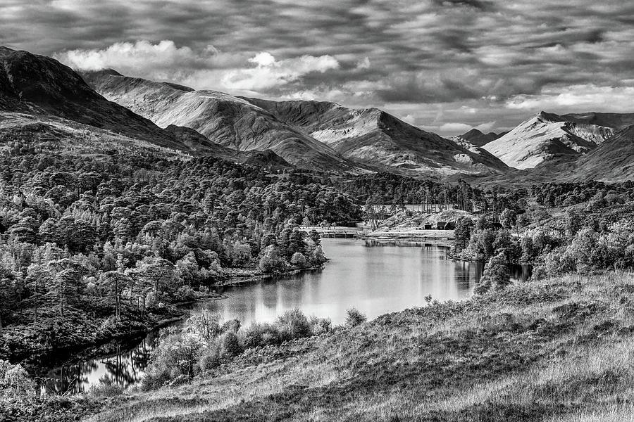 Glen Affric Approaching Winter Photograph