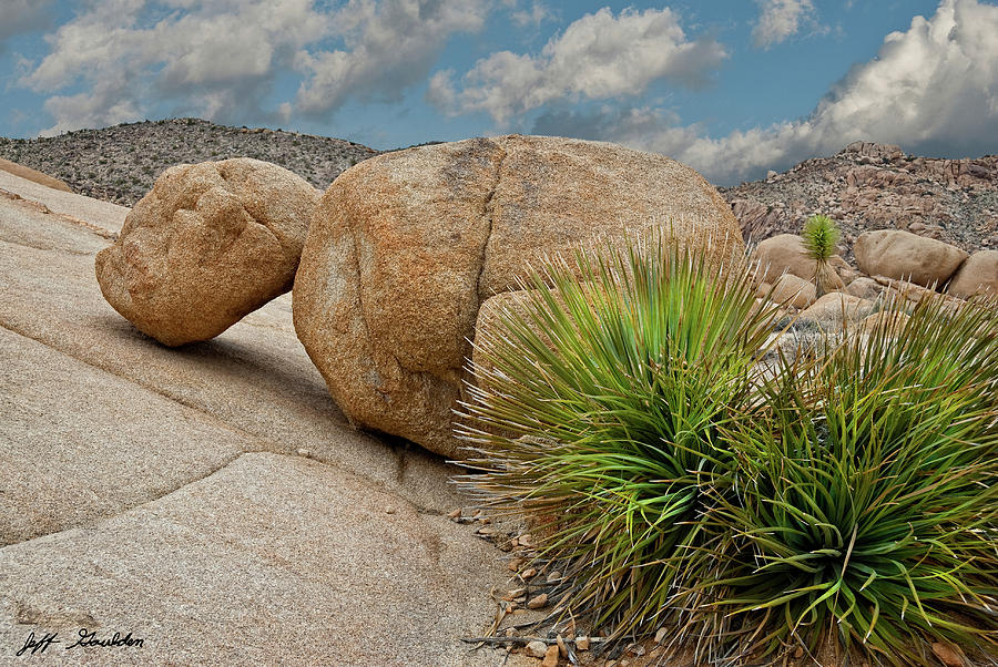 Gneiss Rock Formations by Jeff Goulden