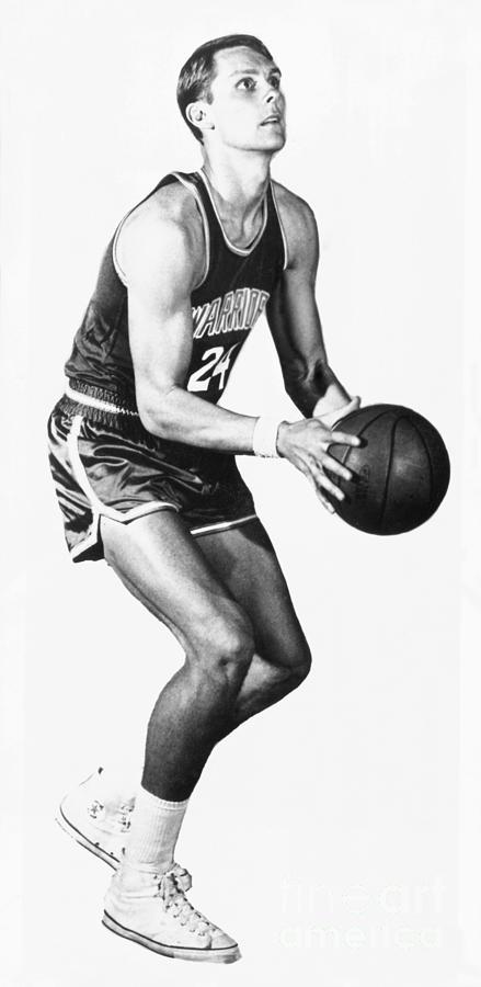 Golden State Warriors - Rick Barry Photograph by Nba Photos