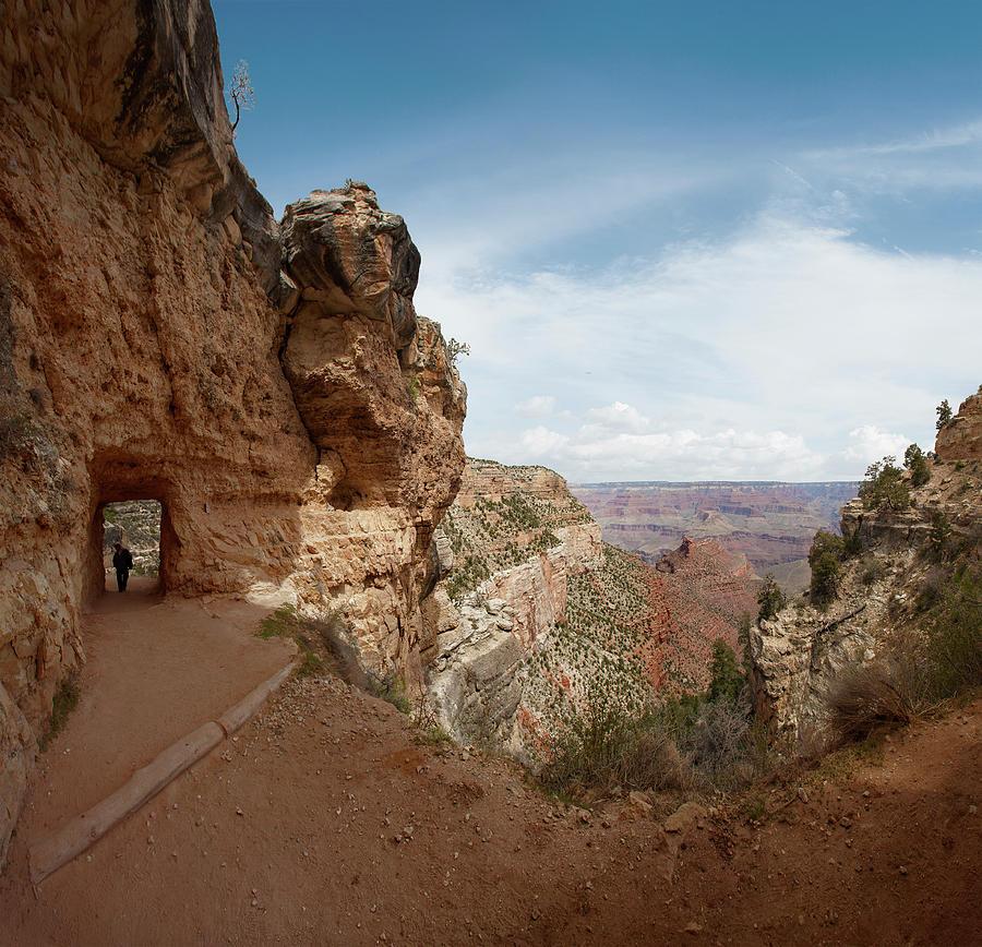 Grand Canyon National Park - Bright Photograph by Ed Freeman