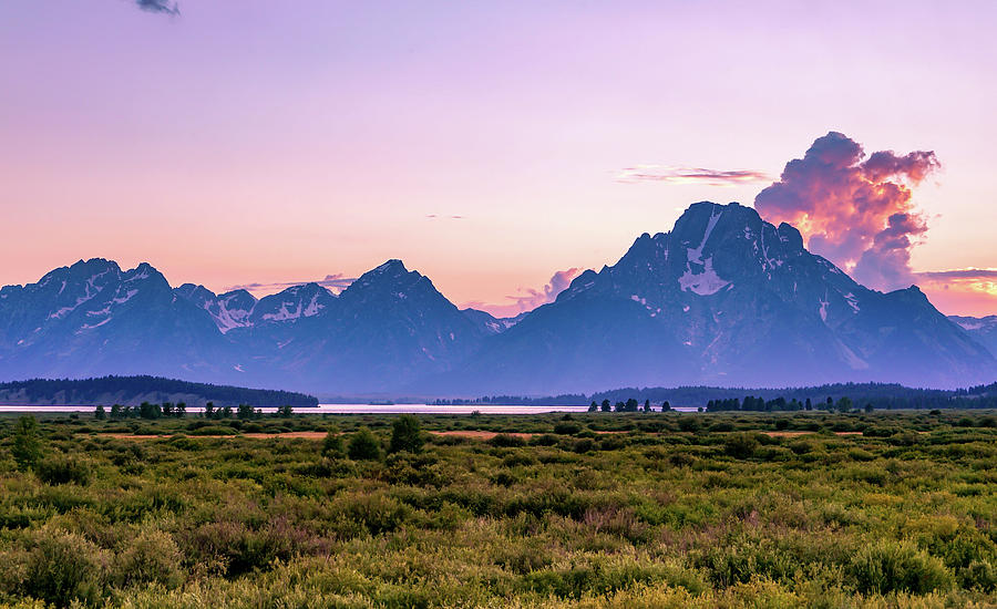 Grand Tetons by Ric Schafer