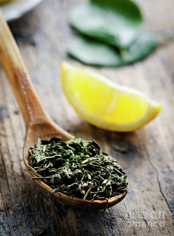 Green Tea by Jelena Jovanovic