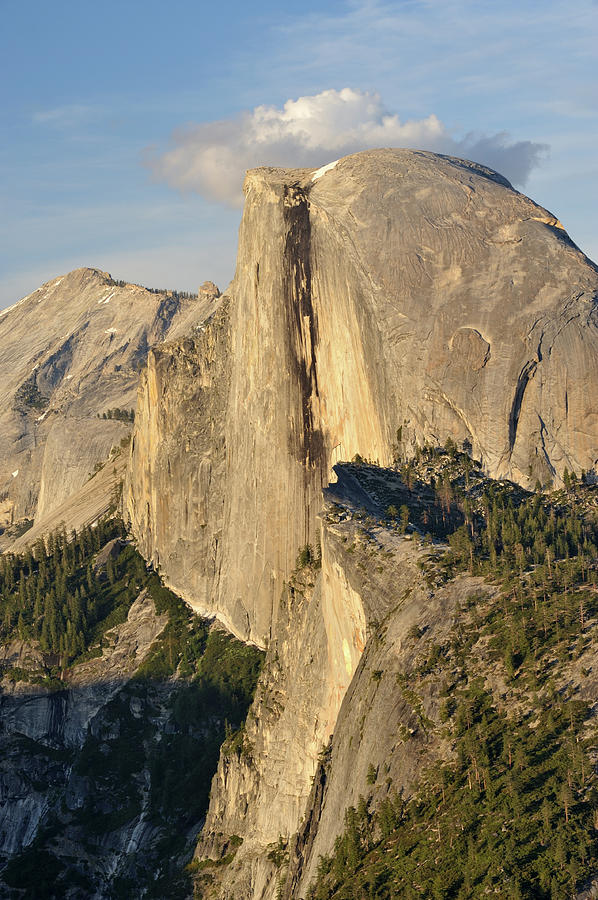 Half Dome Photograph by Aimintang