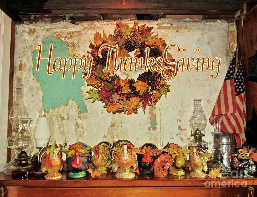 Happy Thanksgiving  by Nancy Patterson