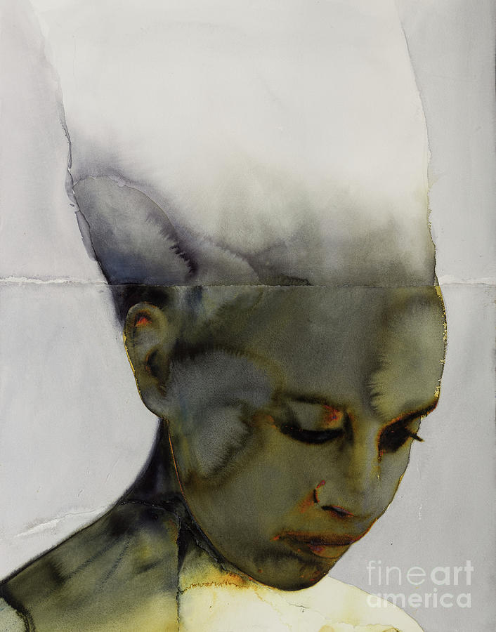 Painting Painting - Head by Graham Dean
