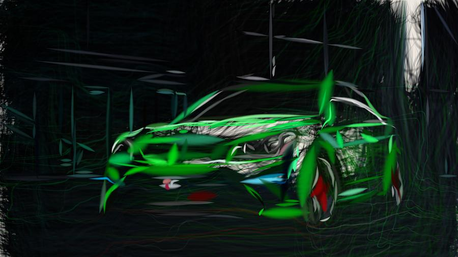 Holden Hsv Gtsr Drawing by CarsToon Concept