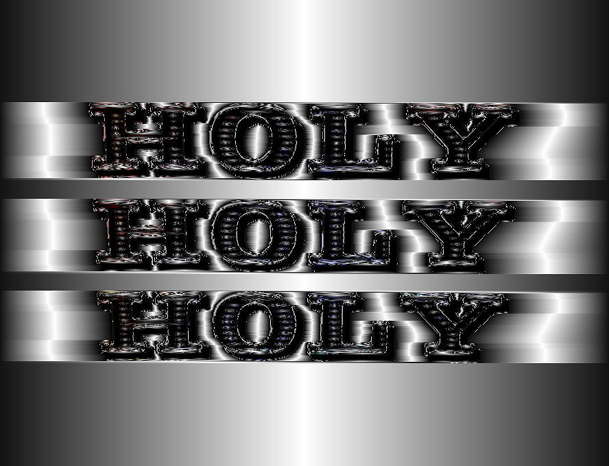 Holy Holy Holy by Mary Russell