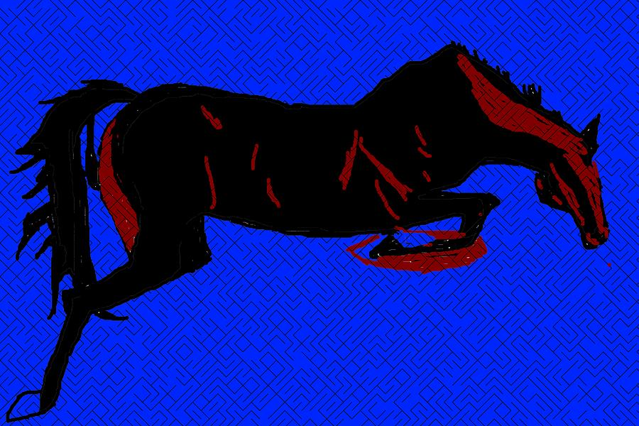 HORSE-8 by Anand Swaroop Manchiraju