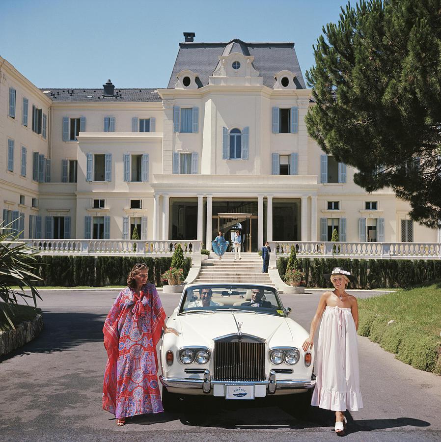 Hotel Du Cap-eden-roc Photograph by Slim Aarons