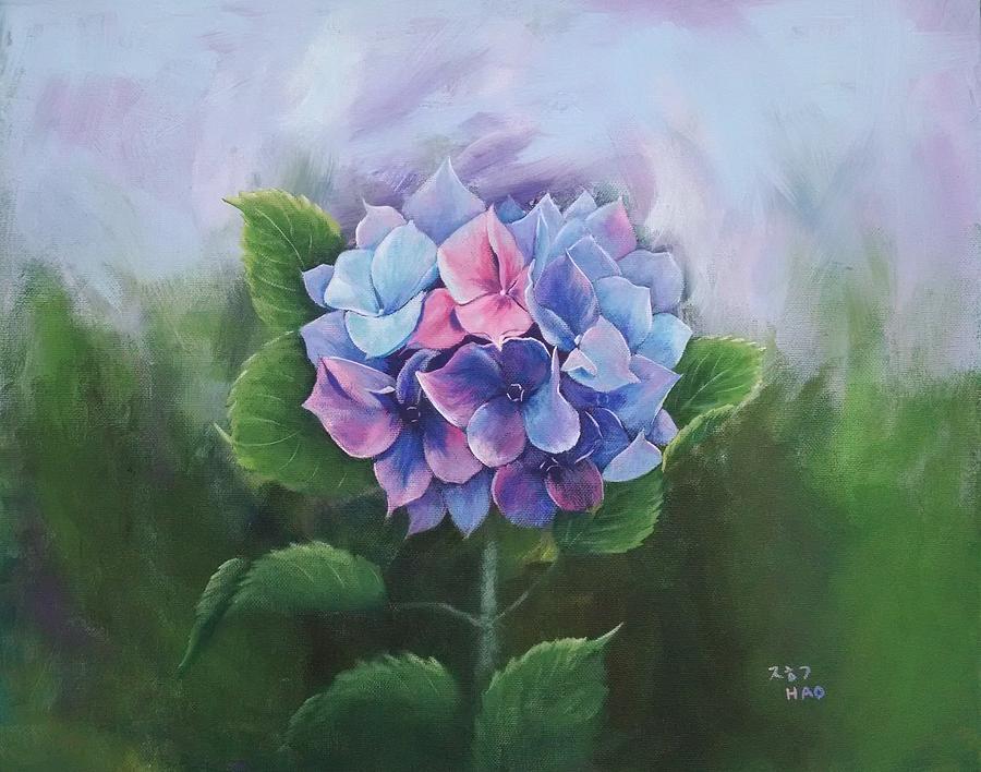 Hydrangea by Helian Osher
