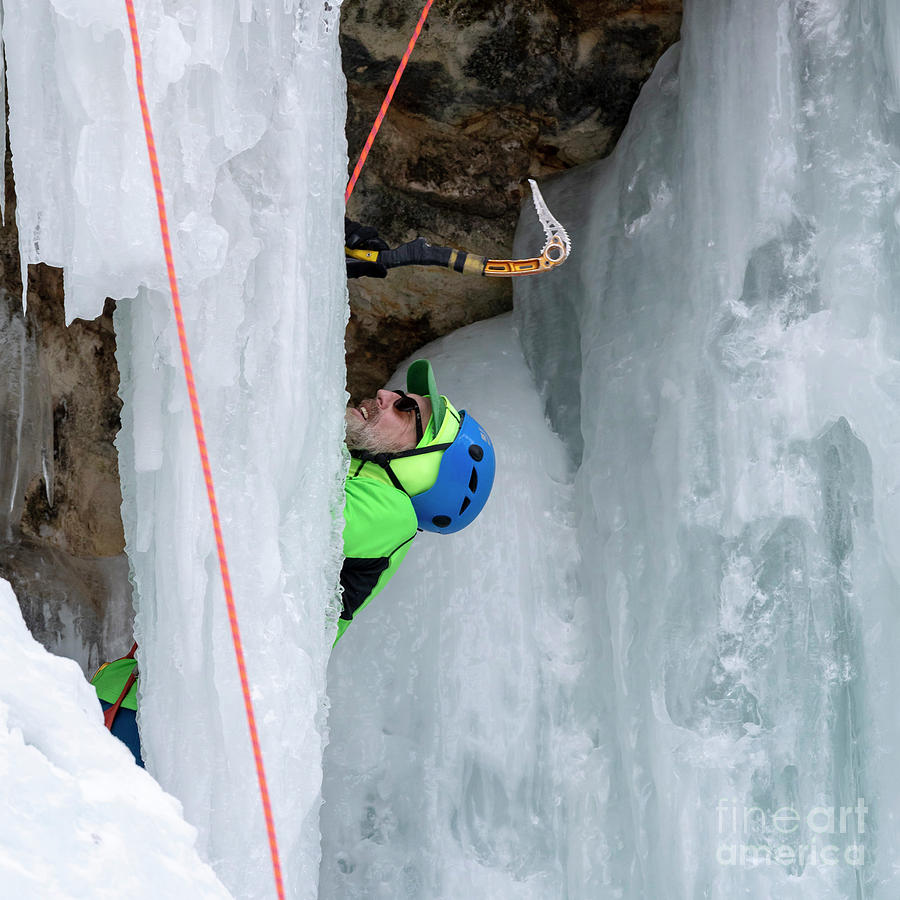 Ice Climber by Jim West