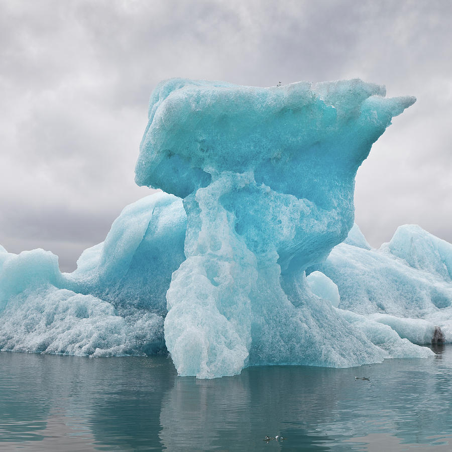 Icebergs On Glacial Lagoon Photograph by Arctic-images