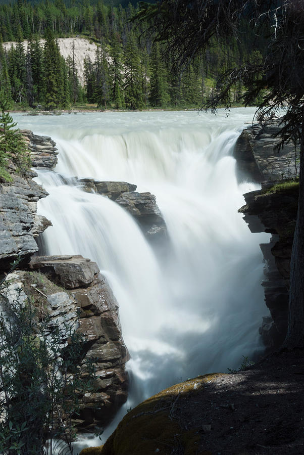 Icefields Parkway, Athabasca Falls Photograph by John Elk Iii