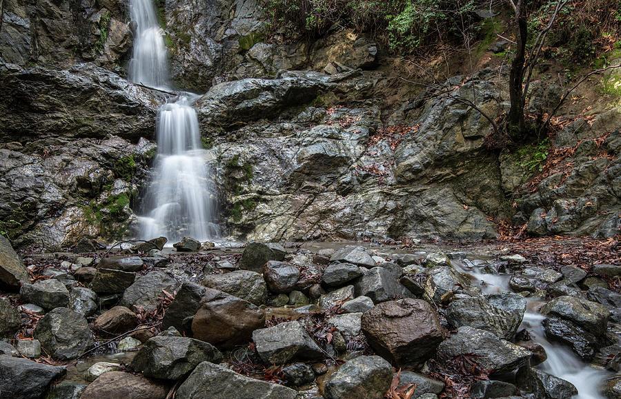 Idyllic waterfall, Troodos mountains Cyprus by Michalakis Ppalis
