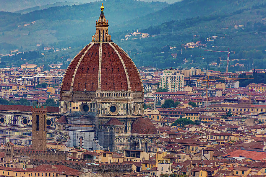 Il Duomo in Florence by Darryl Brooks