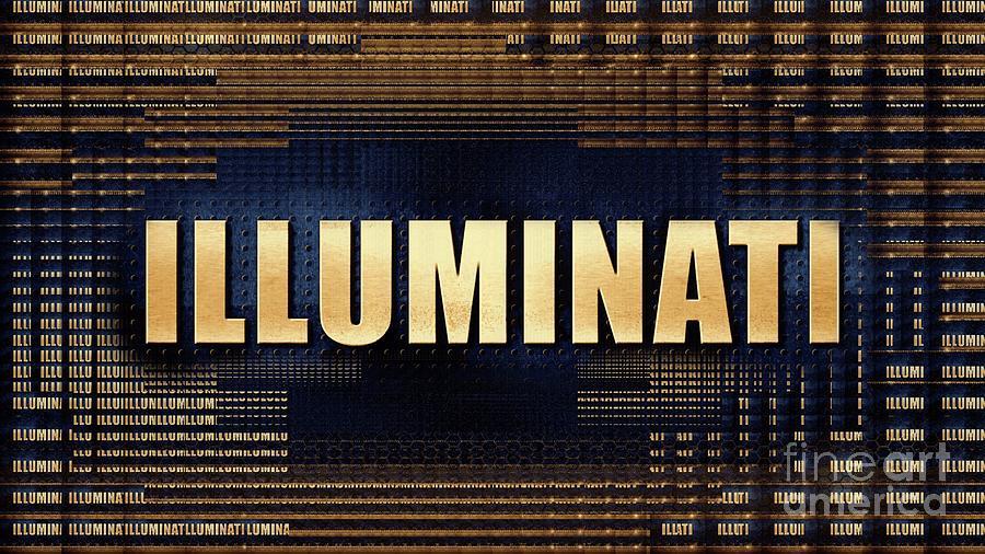 Illuminati Digital Art - Illuminati 2 by Raphael Terra