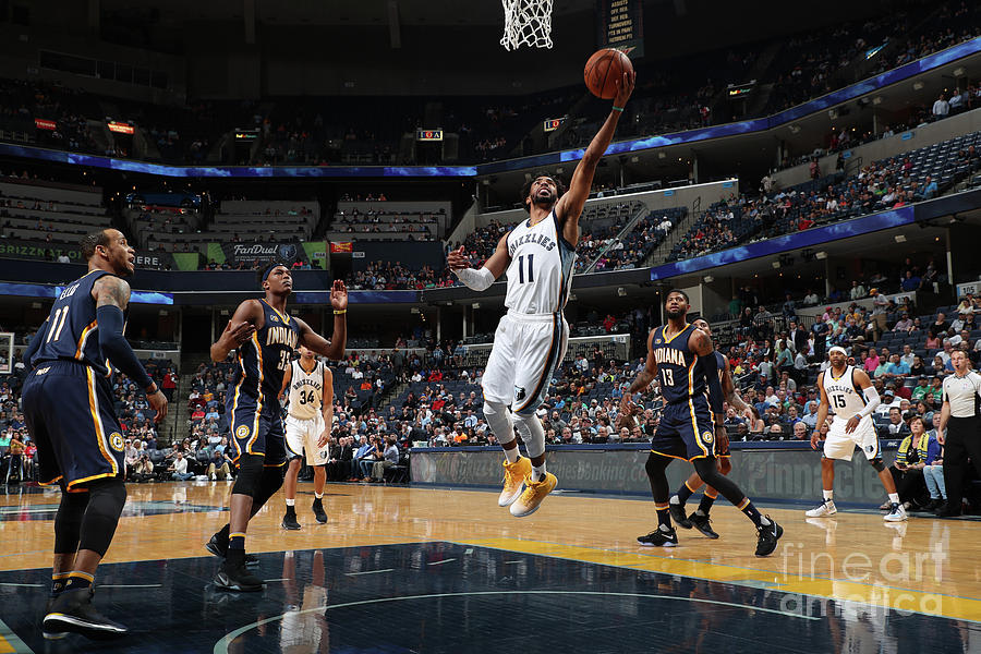 Indiana Pacers V Memphis Grizzlies Photograph by Joe Murphy