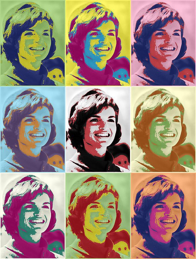 Jackie Kennedy Photograph - Jackie Kennedy by Donald Stevenson