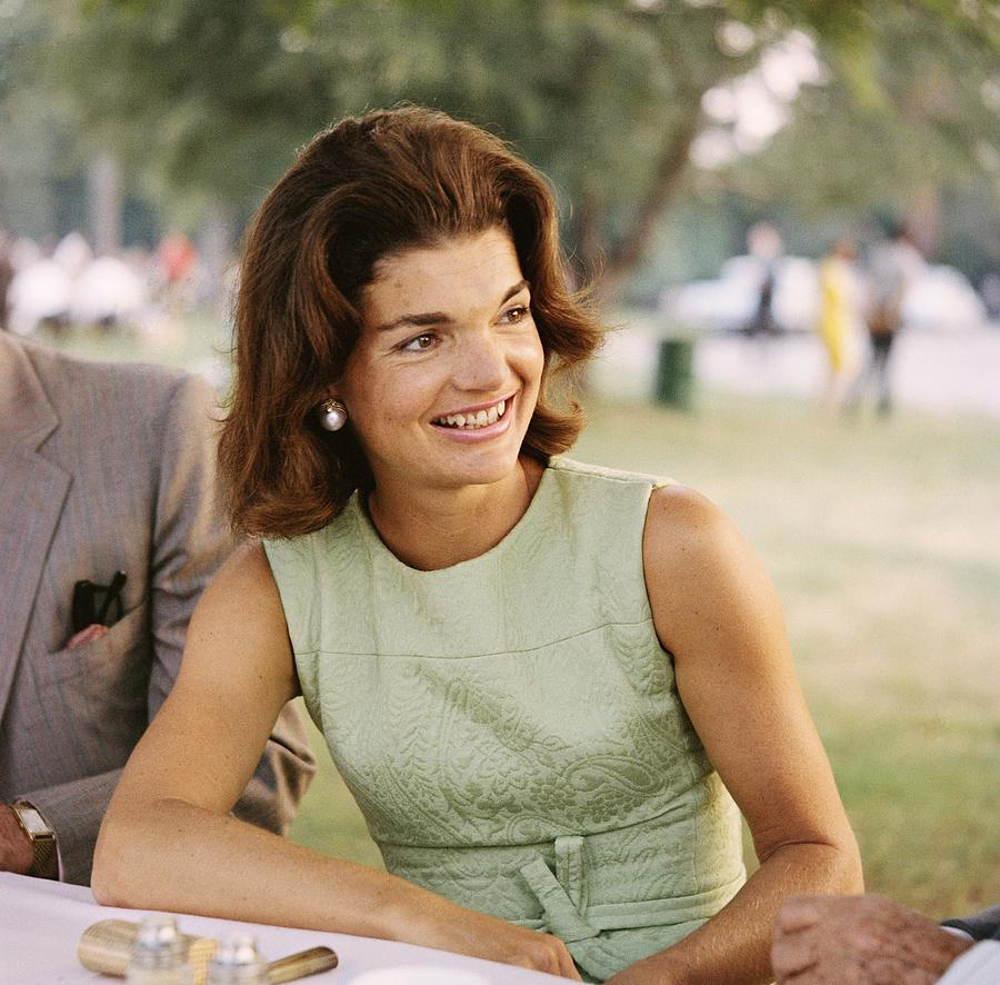 Jacqueline Kennedy Photograph by Michael Ochs Archives
