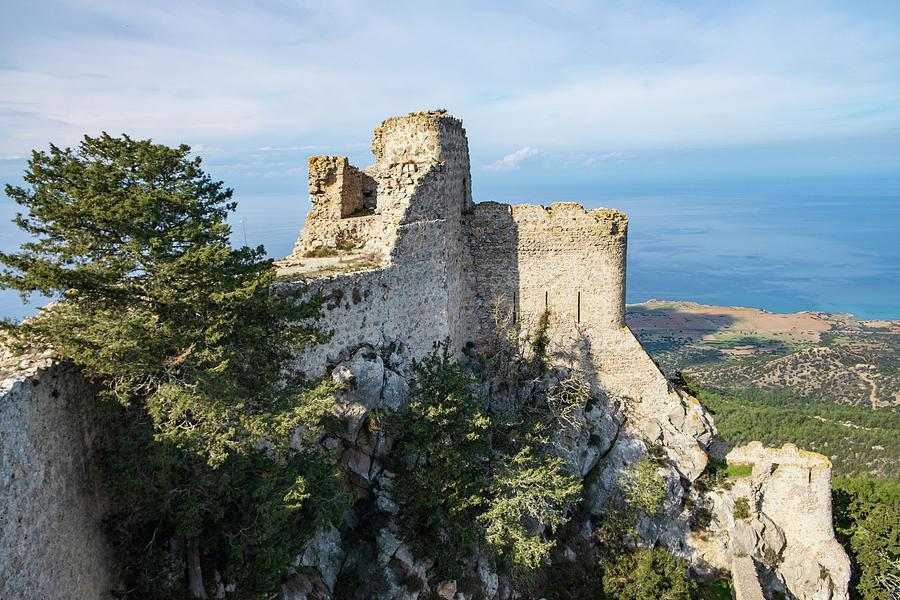 Cyprus Photograph - Kantara Castle, Cyprus by Iordanis Pallikaras