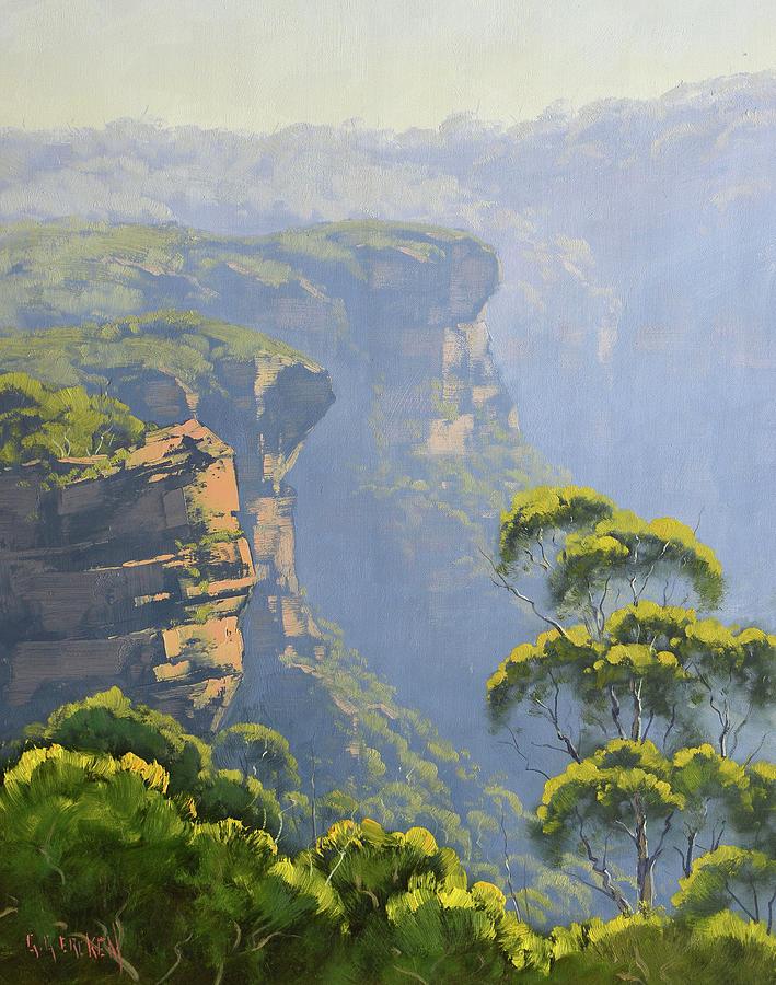 Katoomba Cliffs Painting