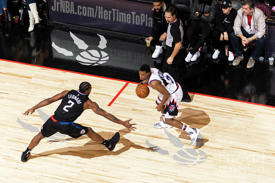 La Clippers V Toronto Raptors Photograph by Mark Blinch