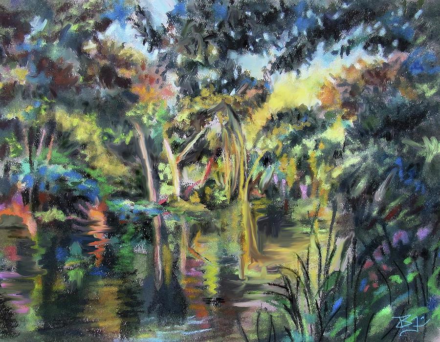 Lake Reflections by Jean Batzell Fitzgerald