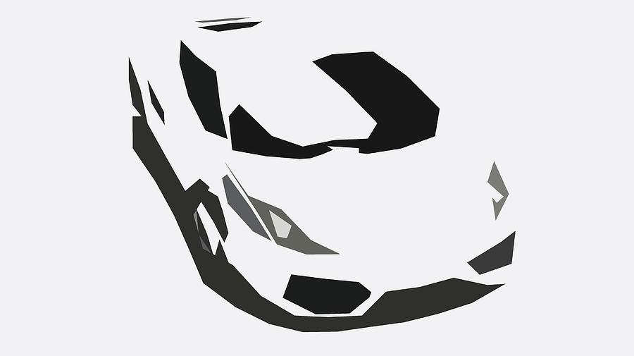 Lamborghini Gallardo Lp560 4 Abstract Design Digital Art By