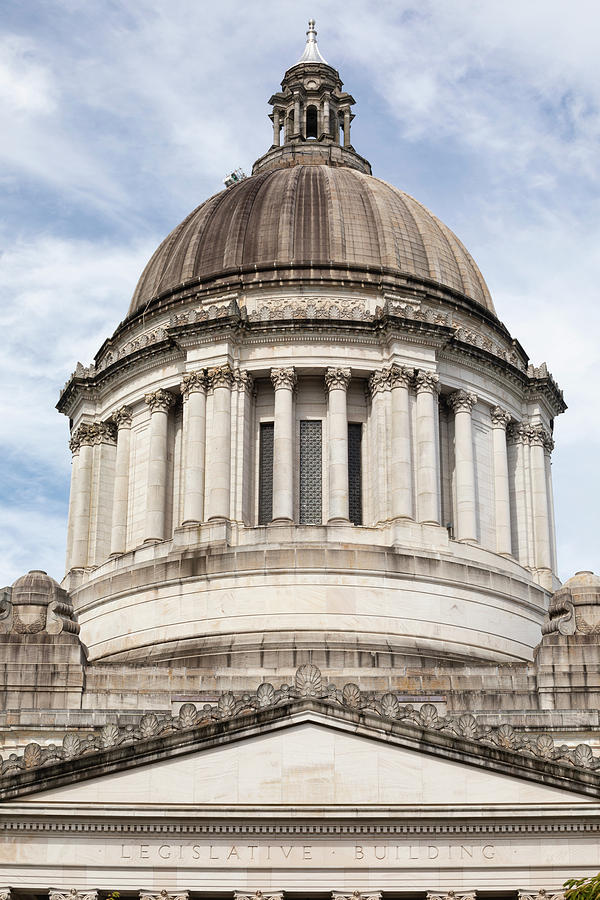 Vertical Photograph - Legislative Building, Olympia by Panoramic Images