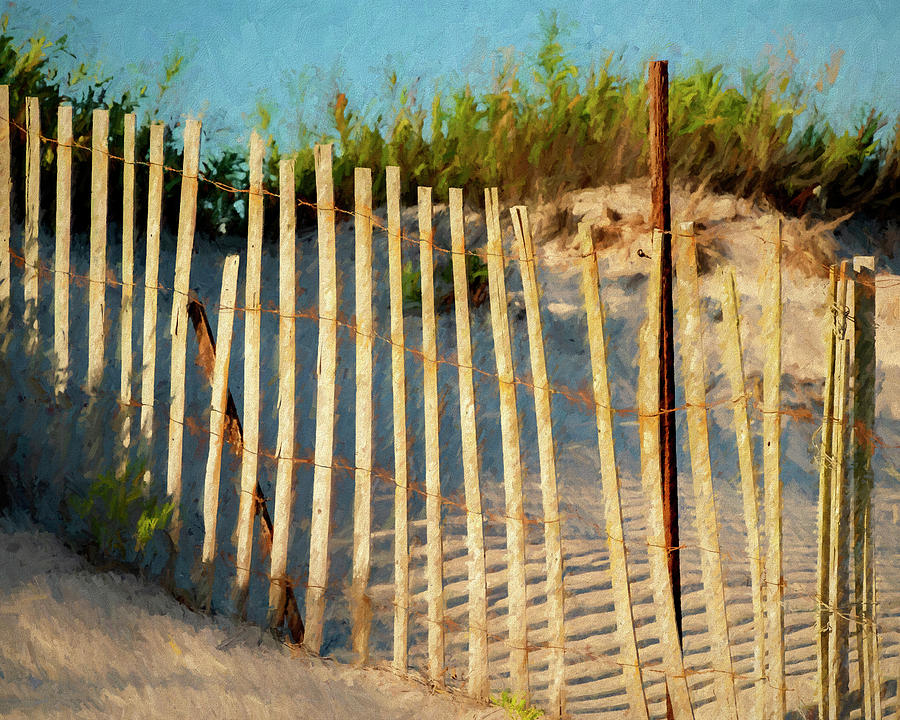 Lines In The Sand by Cathy Kovarik