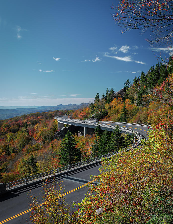 Linn Cove Viaduct - Blue Ridge Parkway by Mike Koenig