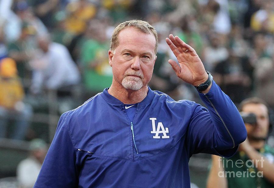 Los Angeles Dodgers V Oakland Athletics Photograph by Ezra Shaw