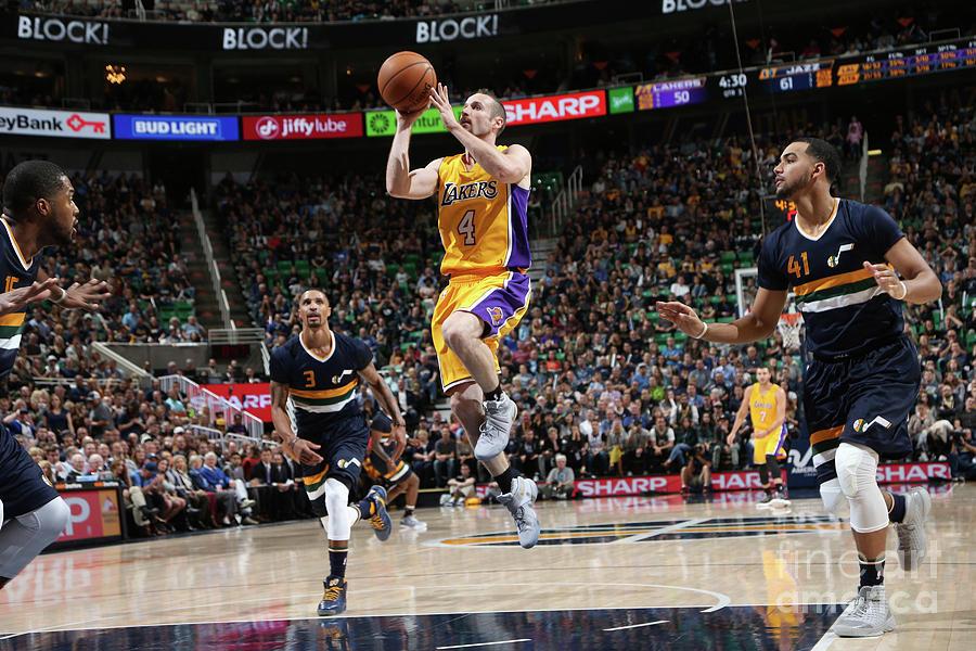Los Angeles Lakers V Utah Jazz Photograph by Melissa Majchrzak