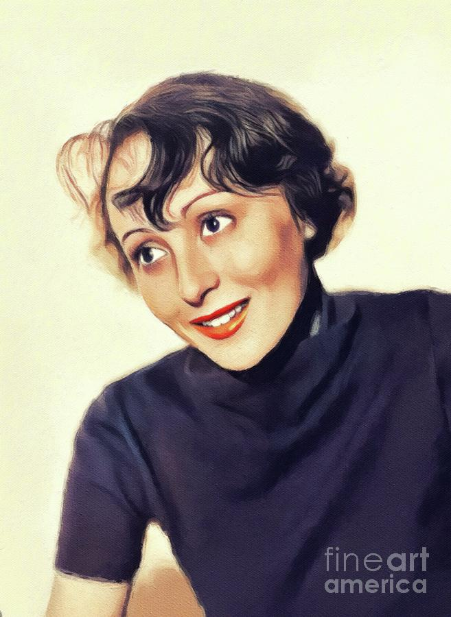 Luise Rainer, Vintage Actress by John Springfield