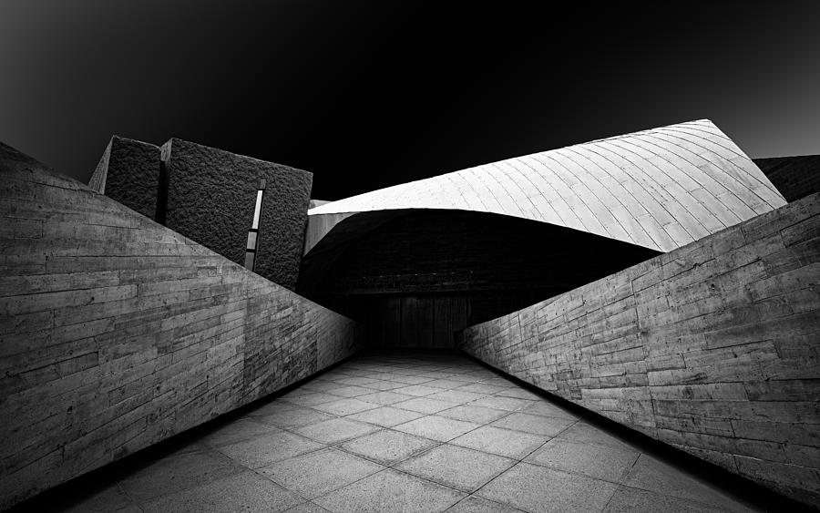 Architecture Photograph - Magma by Inge Schuster