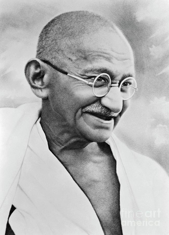 Mahatma Gandhi Photograph by Bettmann