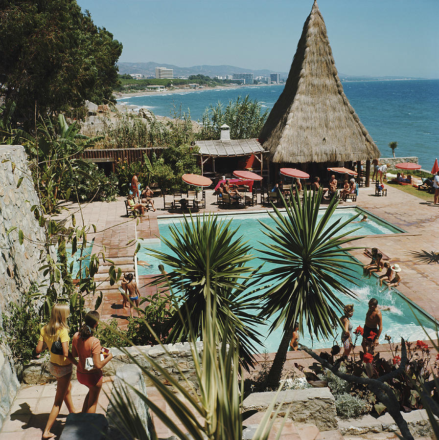 Marbella Club Photograph by Slim Aarons