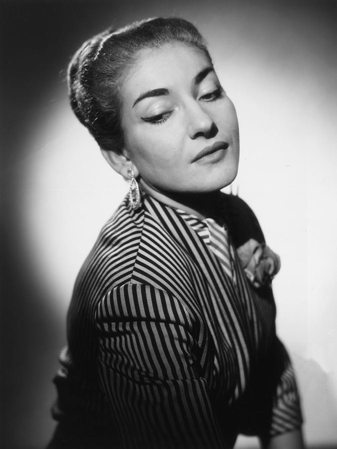 Maria Callas Photograph by Baron